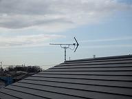 茨城県新築アンテナ工事