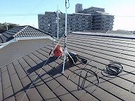 片流れ屋根アンテナ