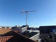 VHFアンテナ取り外し