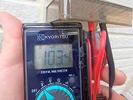コンセント電圧測定